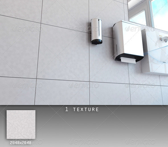 Professional Ceramic Tile Collection C050 - 3DOcean Item for Sale