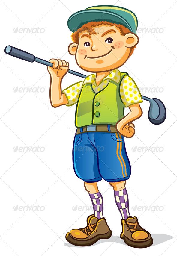 GraphicRiver Golf Boy 4768098
