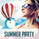 Summer/Beach Party Flyer & Poster Templates