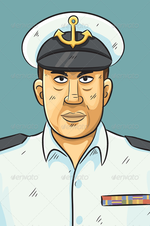 GraphicRiver Navy Portrait 4768197