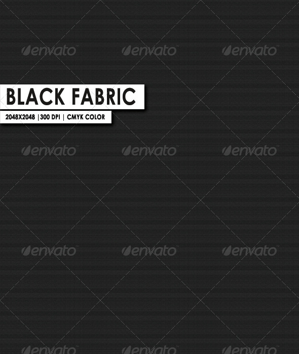 Black Fabric Texture  - 3DOcean Item for Sale