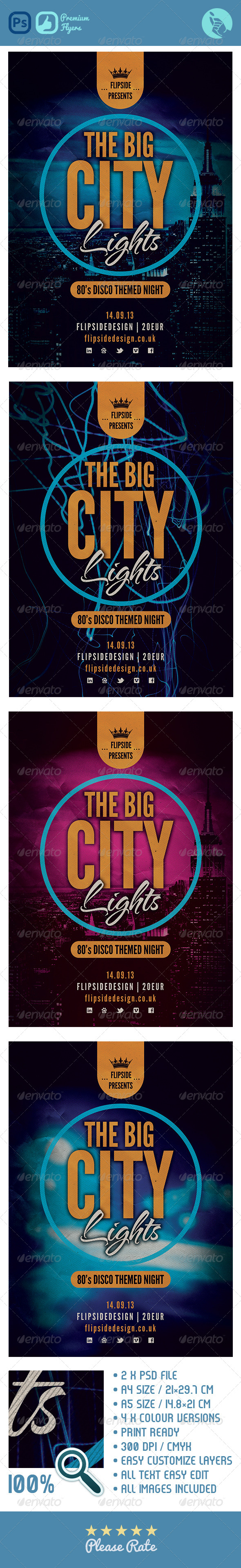 GraphicRiver The Big City Lights 4768507
