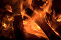 Red Hot Embers in a Camp Fire - PhotoDune Item for Sale