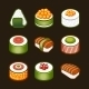 Sushi Set - Japan Cuisine - GraphicRiver Item for Sale