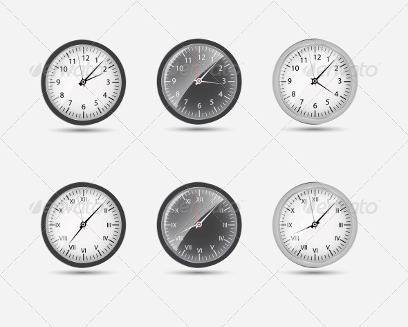 GraphicRiver Time Zone World Vector Illustration 4769066