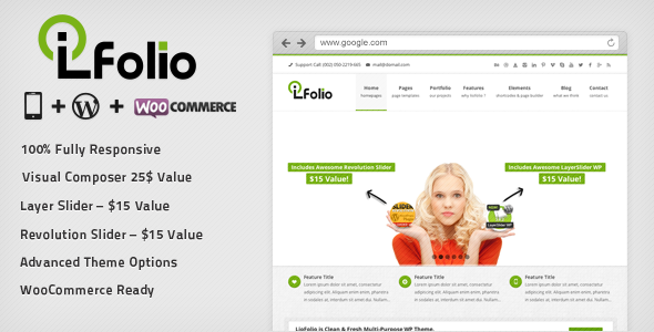 LioFolio | Responsive Multi-Purpose Theme - Business Corporate
