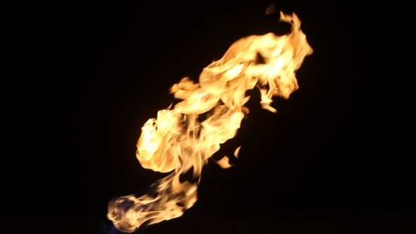 Flame 7 Slow Motion