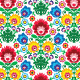 Seamless Floral Polish Pattern - Ethnic Background - GraphicRiver Item for Sale