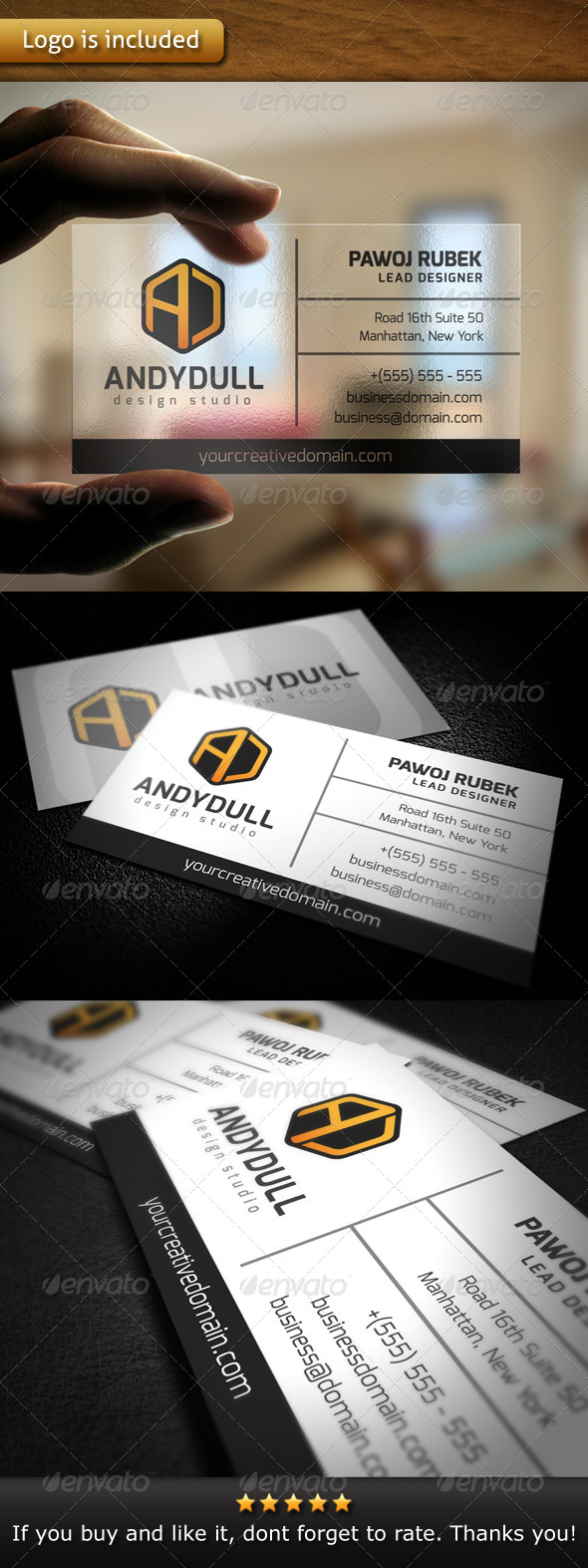GraphicRiver Multipurpose Brand Business Card 4769355