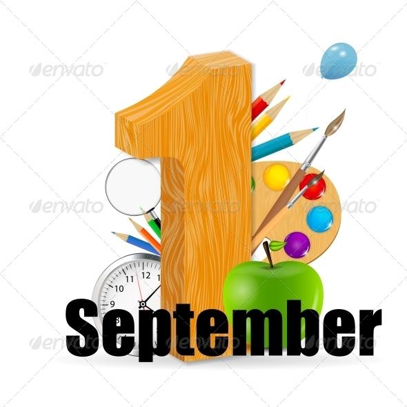 GraphicRiver 1 September Date Vector Illustration 4769403