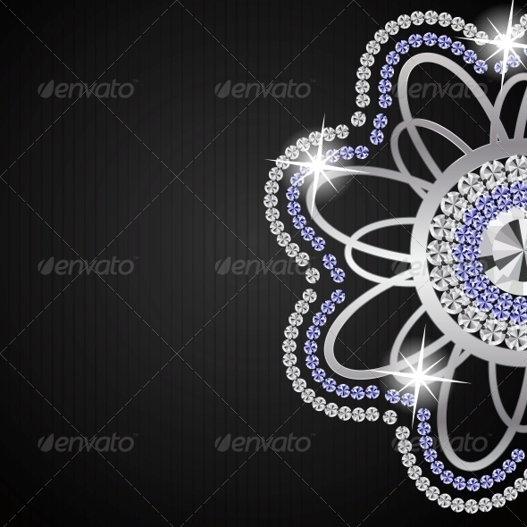 GraphicRiver Abstract Black Diamond Vector 4769428