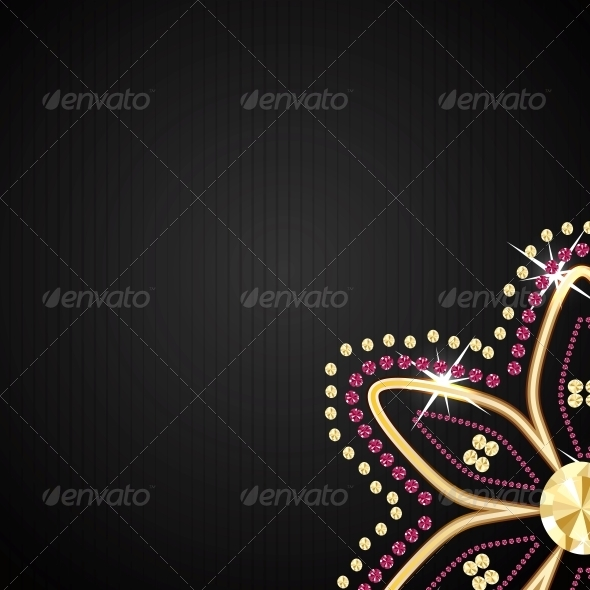 GraphicRiver Abstract Black Diamond Vector 4769432