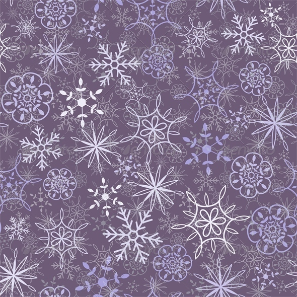 GraphicRiver Snow Pattern 4769433