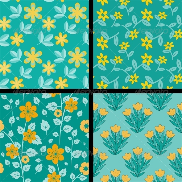 GraphicRiver Patterns Collection 4769442