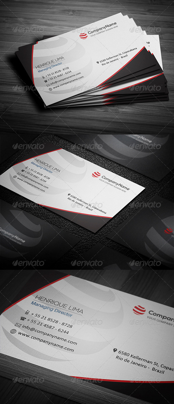 GraphicRiver Corporate Business Card 002 4698833