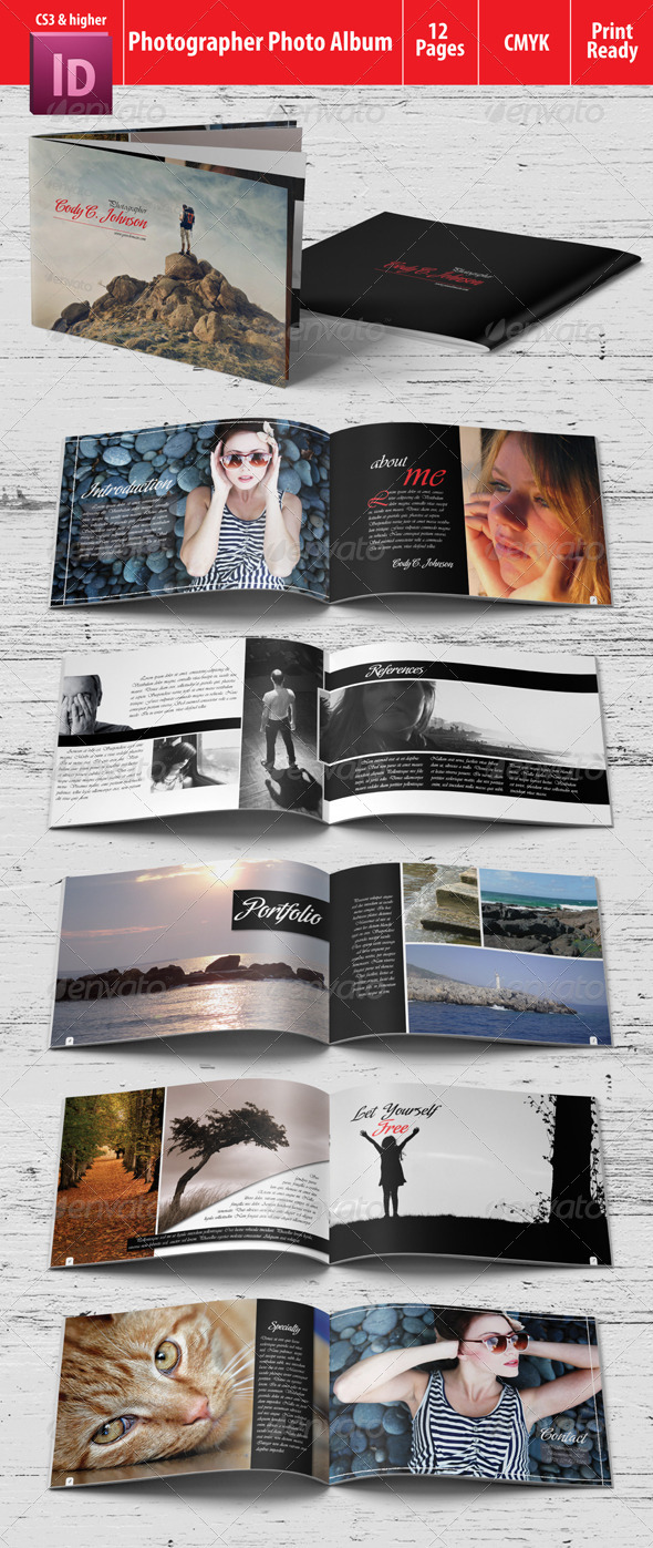 GraphicRiver Photographer Photo Album 4770221