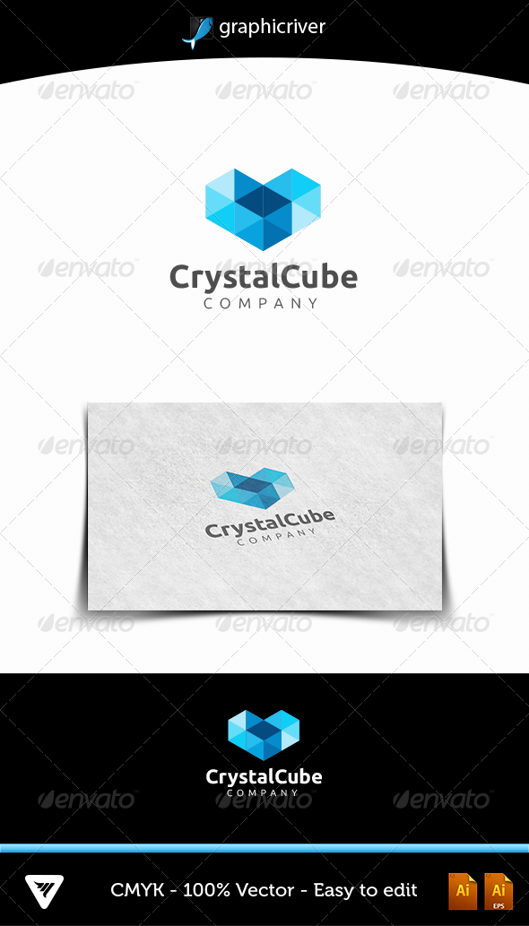 GraphicRiver Crystal Cube 4770721
