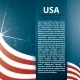 Vector Background USA Flag and Text - GraphicRiver Item for Sale