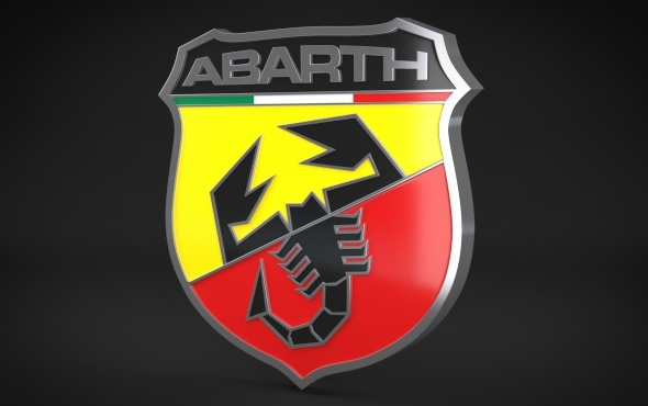 3DOcean Abarth Logo 4771434