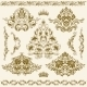 Set of Vector Damask Ornaments - GraphicRiver Item for Sale