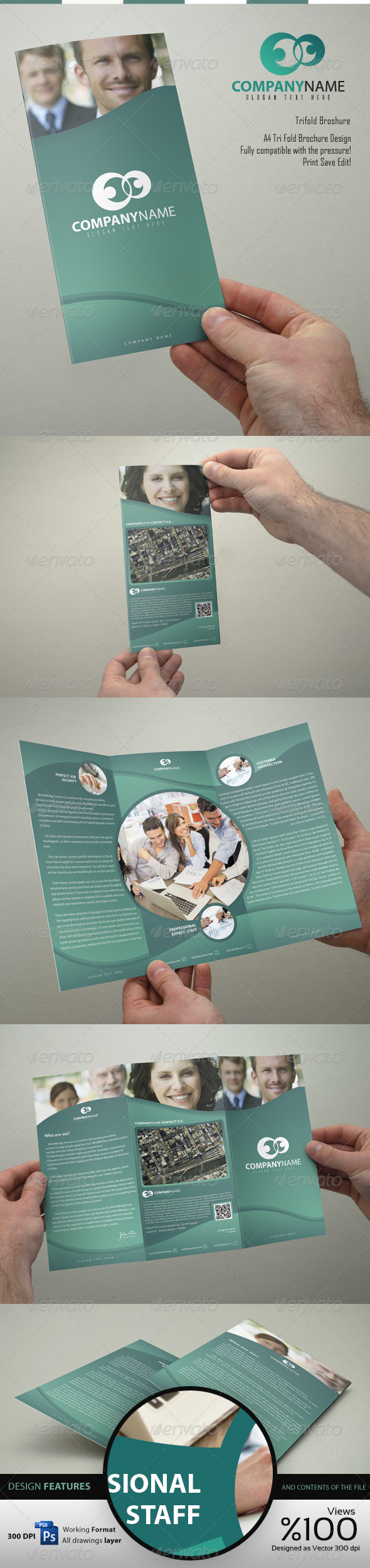 GraphicRiver Company Trifold 1 Brochure Design 4771958