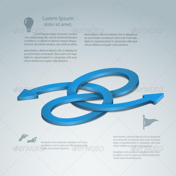 GraphicRiver Bidirectional Looping Arrow 4771973
