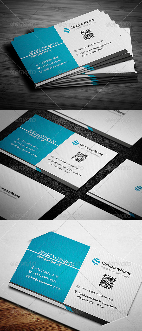 GraphicRiver Corporate Business Card 003 4772027