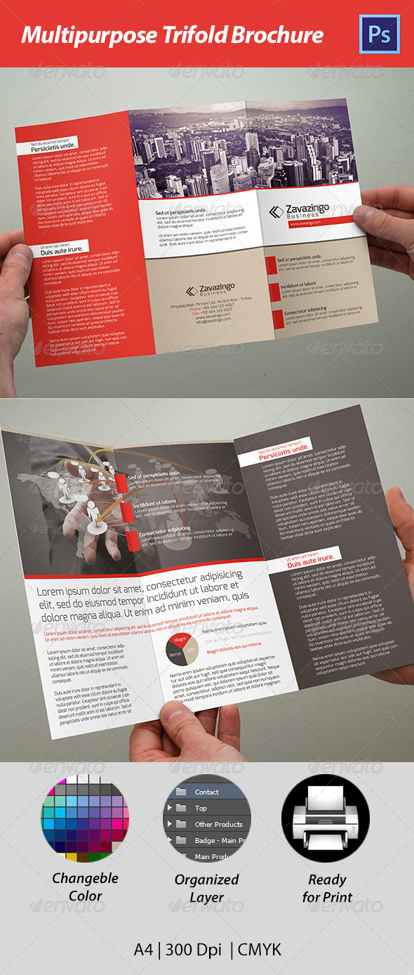 GraphicRiver Trifold Brochure 4772031