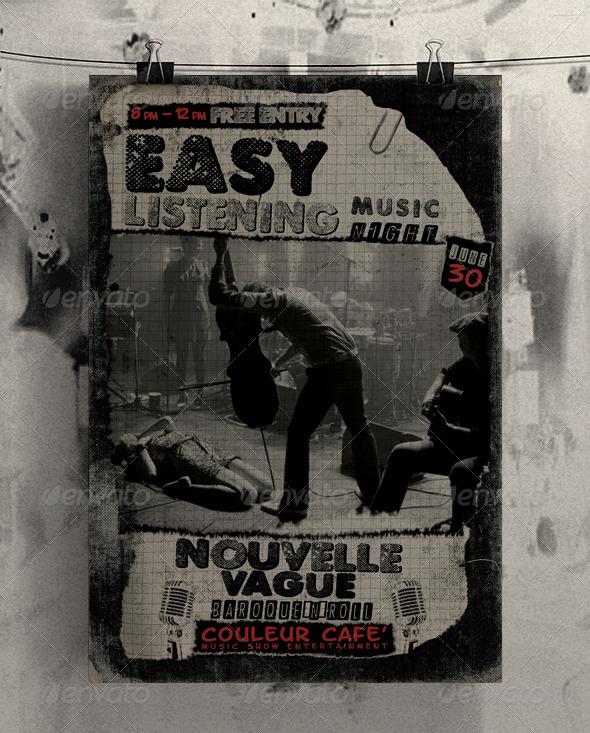 GraphicRiver Nouvelle Vague Flyer 4772044