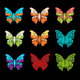 Nice Pallet Of Butterflies - GraphicRiver Item for Sale