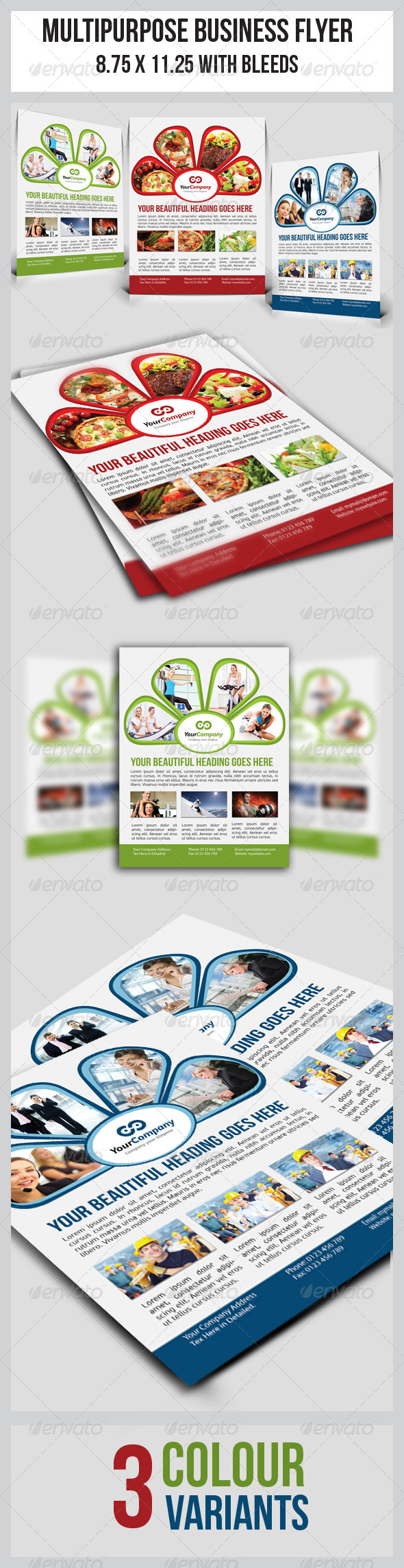 GraphicRiver Multipurpose Business Flyer 4772472