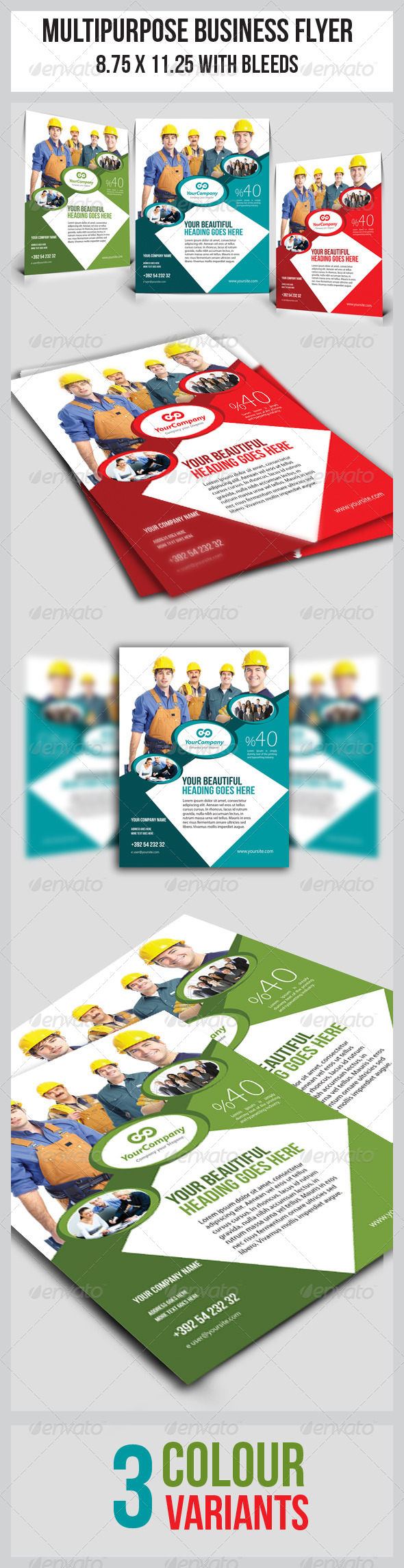 GraphicRiver Multipurpose Business Flyer 4772484