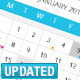 Multiple Event Calendar With Hover  - GraphicRiver Item for Sale