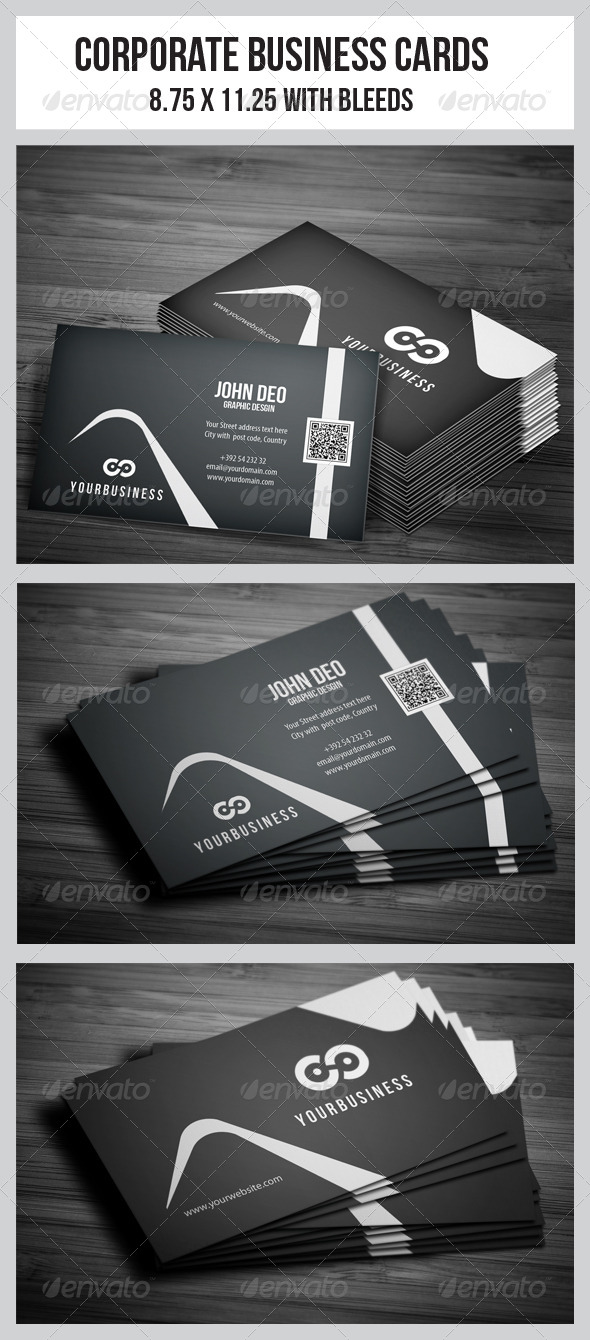 GraphicRiver Corporate Business Cards 4772500
