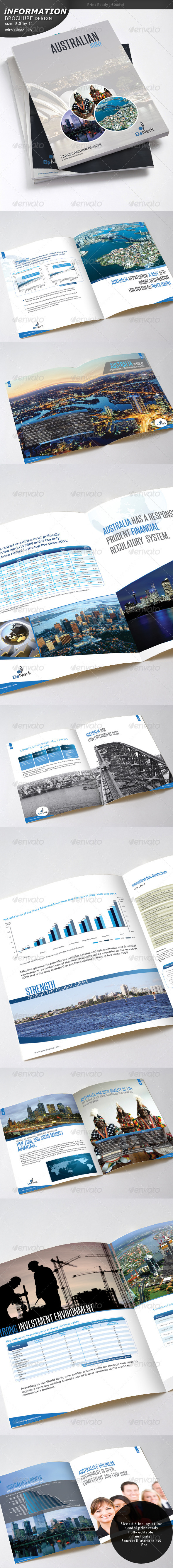 GraphicRiver Informational Brochure 4621717