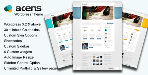 Acens : Creative  WordPress Theme - ThemeForest