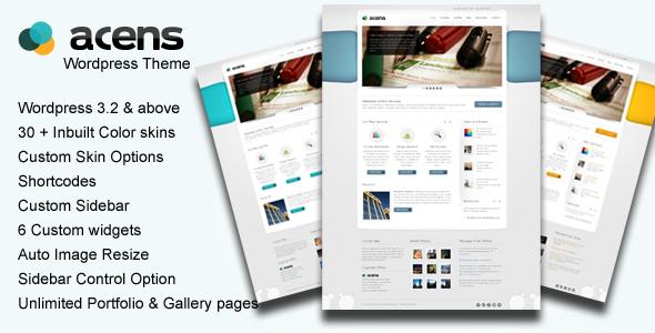 Acens : Creative  WordPress Theme - ThemeForest