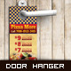 Door Hanger - Pizza More