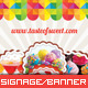 Corporate Roll-up Banner - Sweet Shop