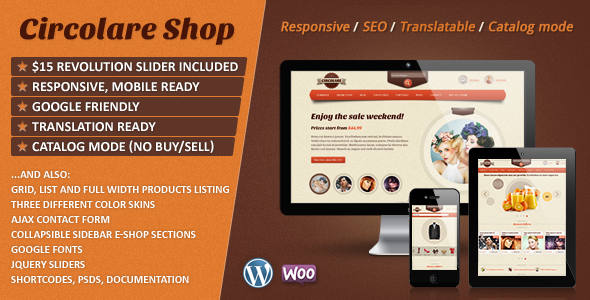 Bellissima Responsive WooCommerce Wordpress Theme