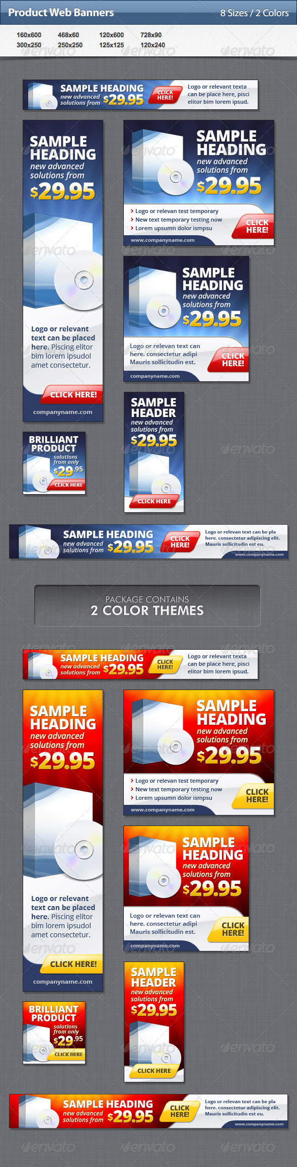 GraphicRiver Product Web Banners 4775199