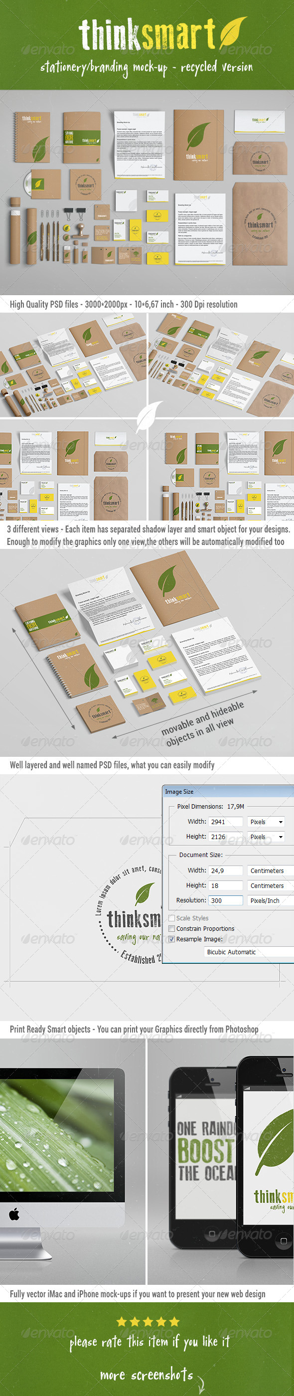 GraphicRiver Branding Identity Mock-Up Recycled Version 4776422