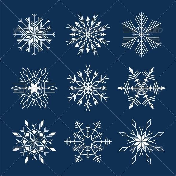 GraphicRiver Snowflake 4776677