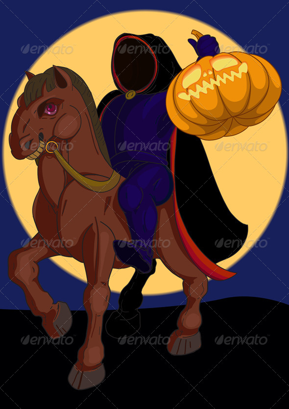 GraphicRiver Headless Horseman 4776686