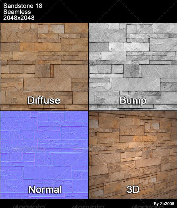 3DOcean Sandstone Seamless Texture 18 4776879