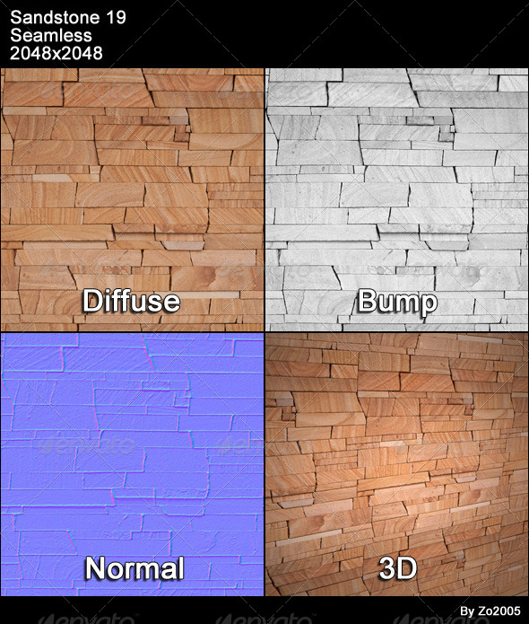 Sandstone Seamless Texture 19 - 3DOcean Item for Sale