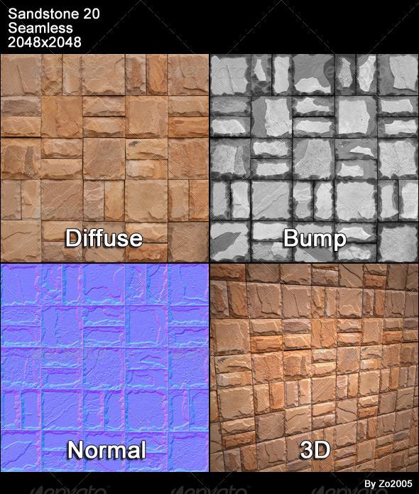 3DOcean Sandstone Seamless Texture 20 4777041