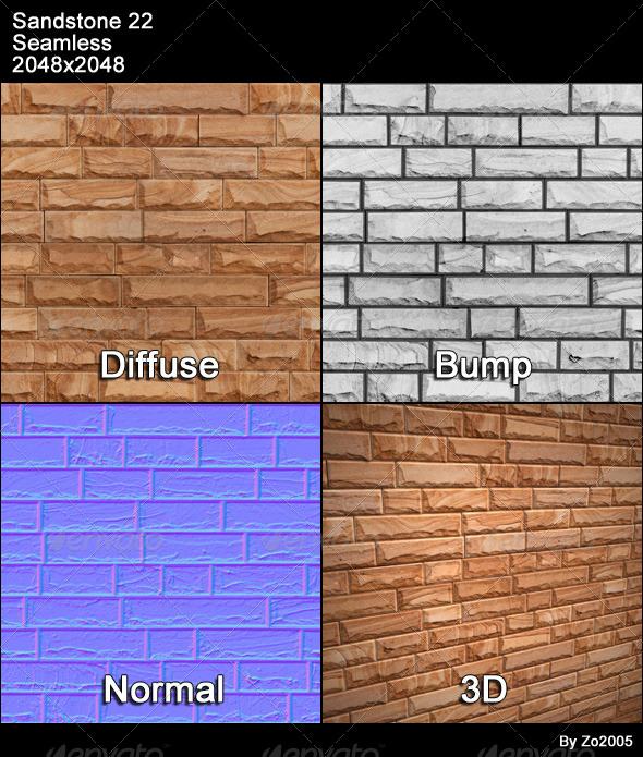 Sandstone Seamless Texture 22 - 3DOcean Item for Sale
