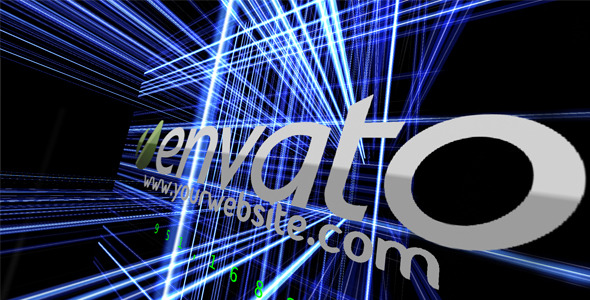 After Effects Project - VideoHive Logo Intro and Blue Lines 482602