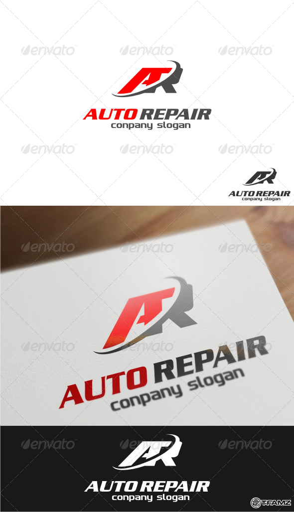 GraphicRiver Auto Repair Logo Templates 4777693